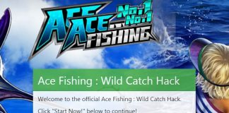 Ace Fishing Hack, get free Cash and Gold here