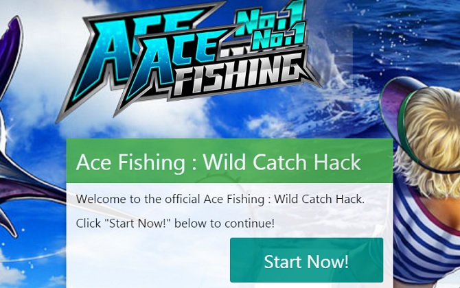Ace fishing hack get free cash and gold using our tool for Ace fishing cheats