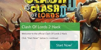 Clash of Lords 2 hack, get free Gems today by using our tool