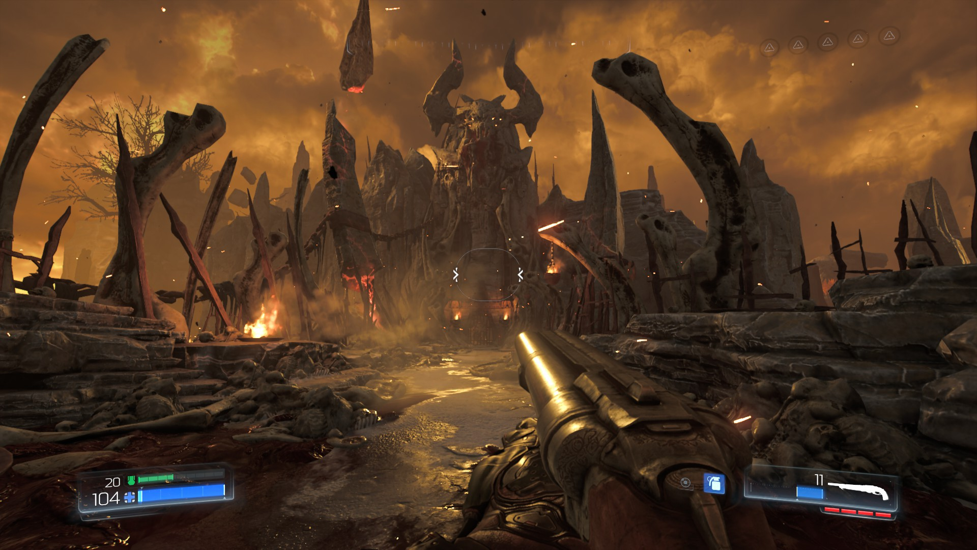 Doom Cracked Gameplay