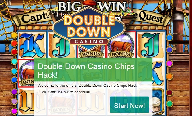 Free Double Down Casino Chips, get them today for free!