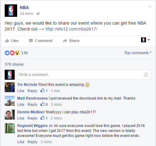 Free NBA 2k17 Download proof