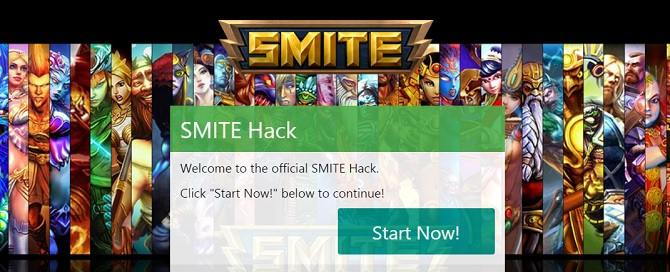 Smite Hack, get free gems from our generator