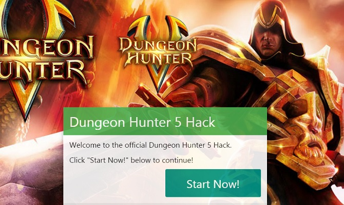dungeon Hunter 5 Hack, get free Gems today!!