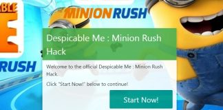 Minion Rush Hack, get you free Tokens today