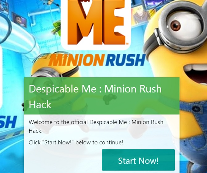 Minion Rush Cheats, get free Tokens here