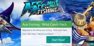 ace fishing cash hack use our generator