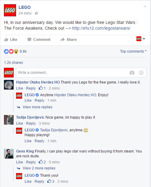 lego star wars download proof