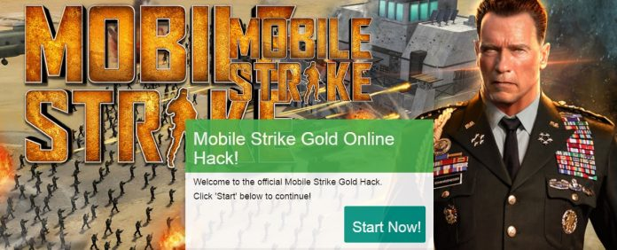 mobile strike gold