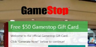 GameStop Coupon Generator