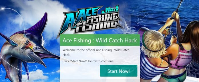 ace fishing hack tool