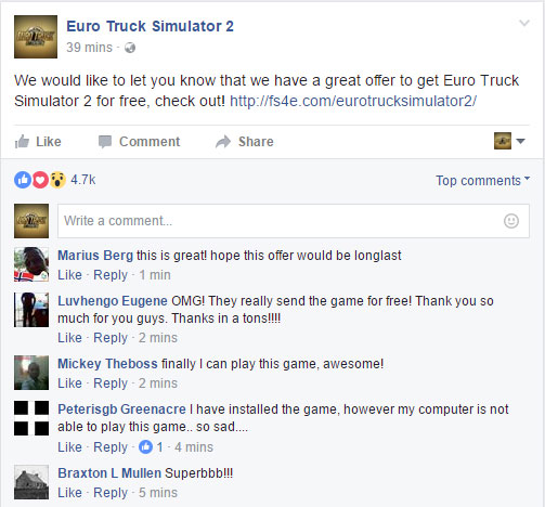 euro truck simulator 2 download proof