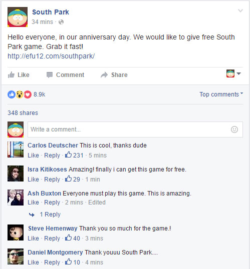 south park download proof