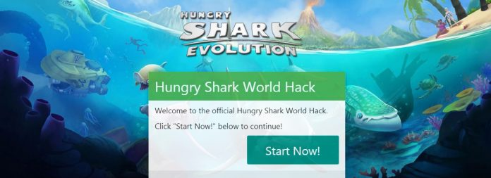 hungry shark world gems hack