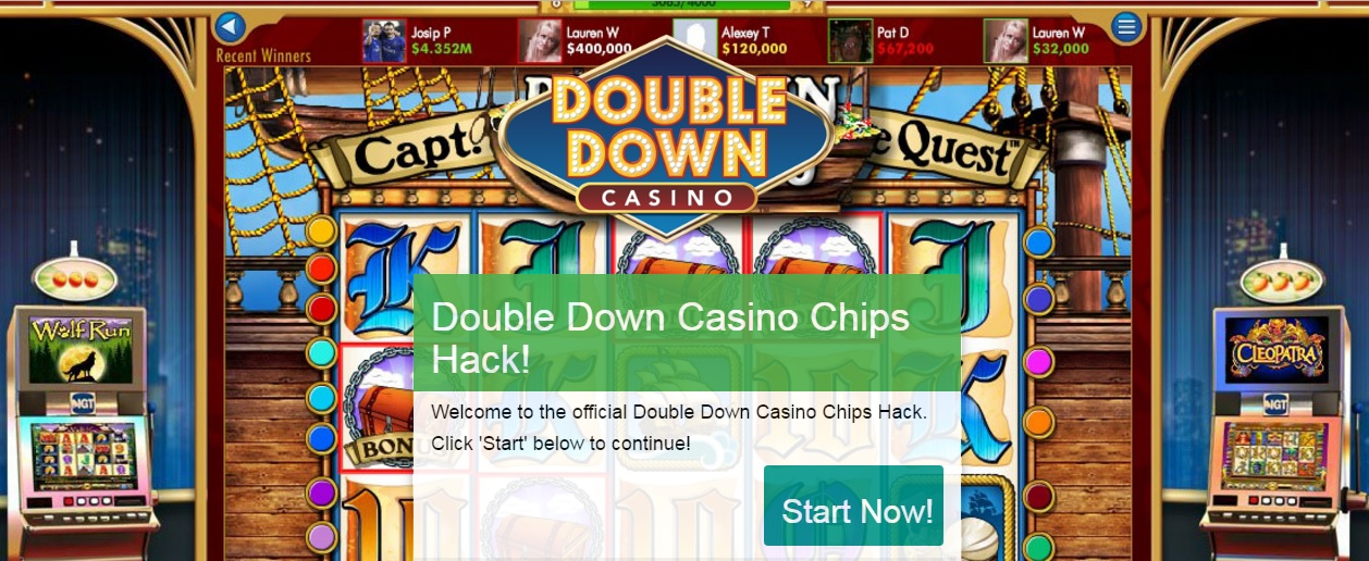 double down casino 1 million chips