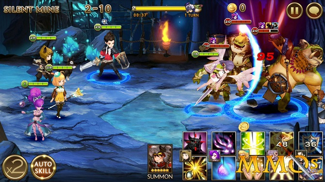 seven knights gameplay