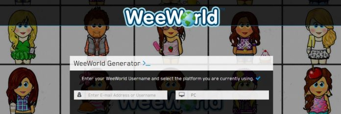 weeworld hack tool