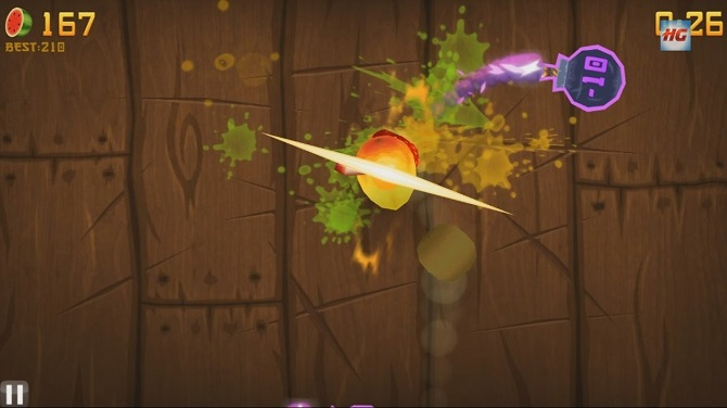 fruit ninja gameplay