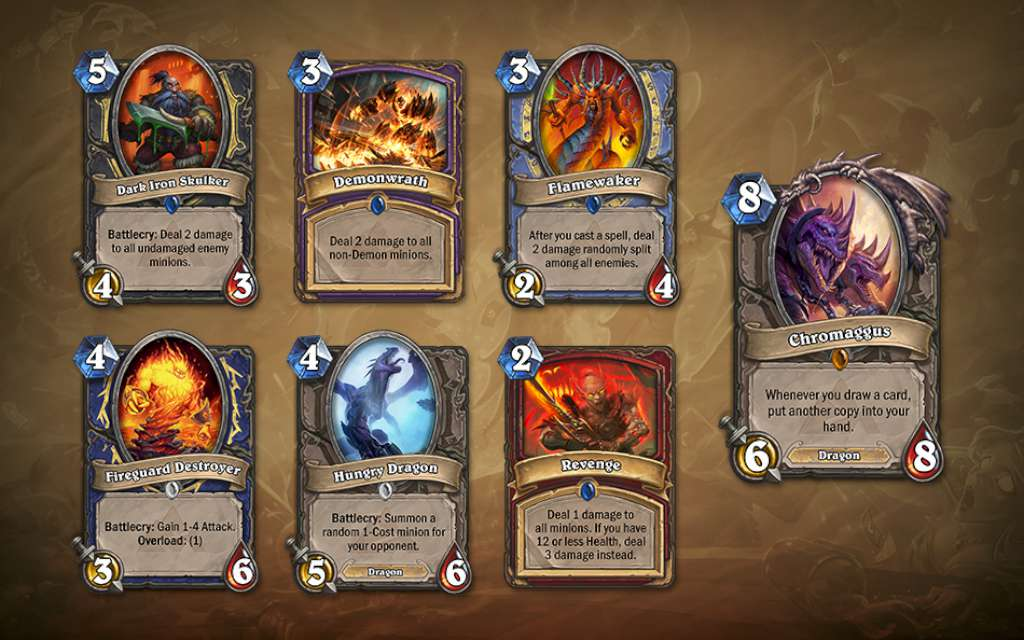 hearthstone cards
