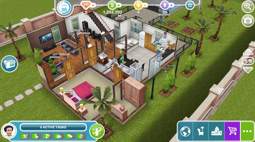 the sims gameplay