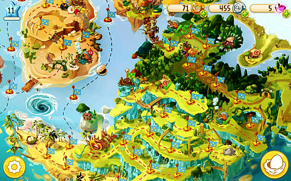 angry birds epic rpg island map